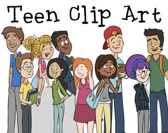 Teen clipart.