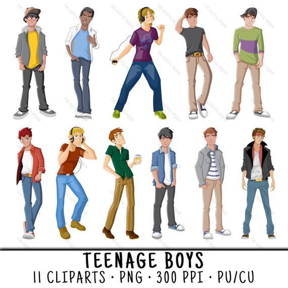 Boy Clipart, Teen Boys Clipart, Boy Clip Art, Teen Boys Clip Art, Clipart  Boy, Clip Art Boy, Teen Boys PNG, PNG Teen Boys, Teen Boys.