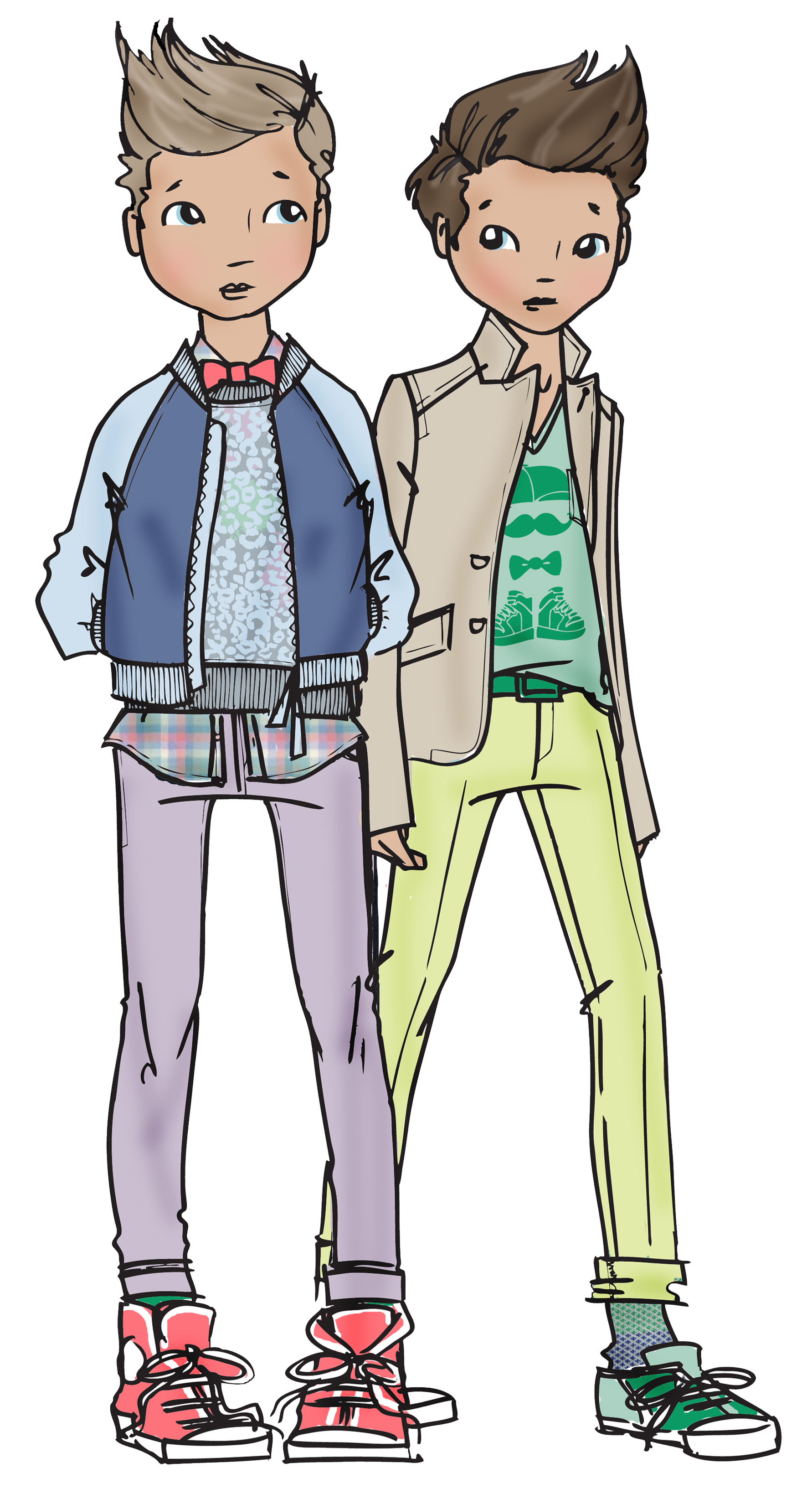 Teen Fashion Cliparts.