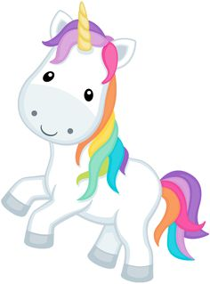 Clip Art Unicorn This cute cartoon unicorn clip.
