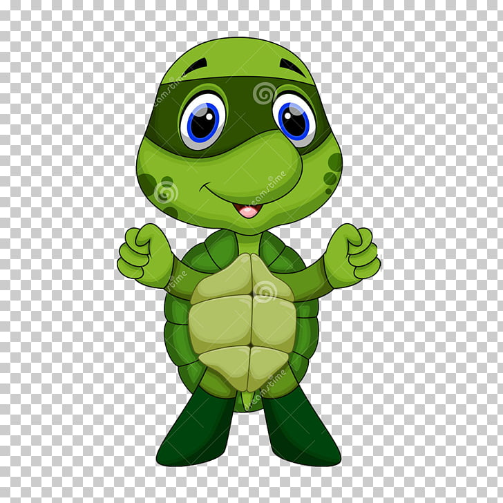 Turtle Cartoon Illustration, Teenage Mutant Ninja Turtles.