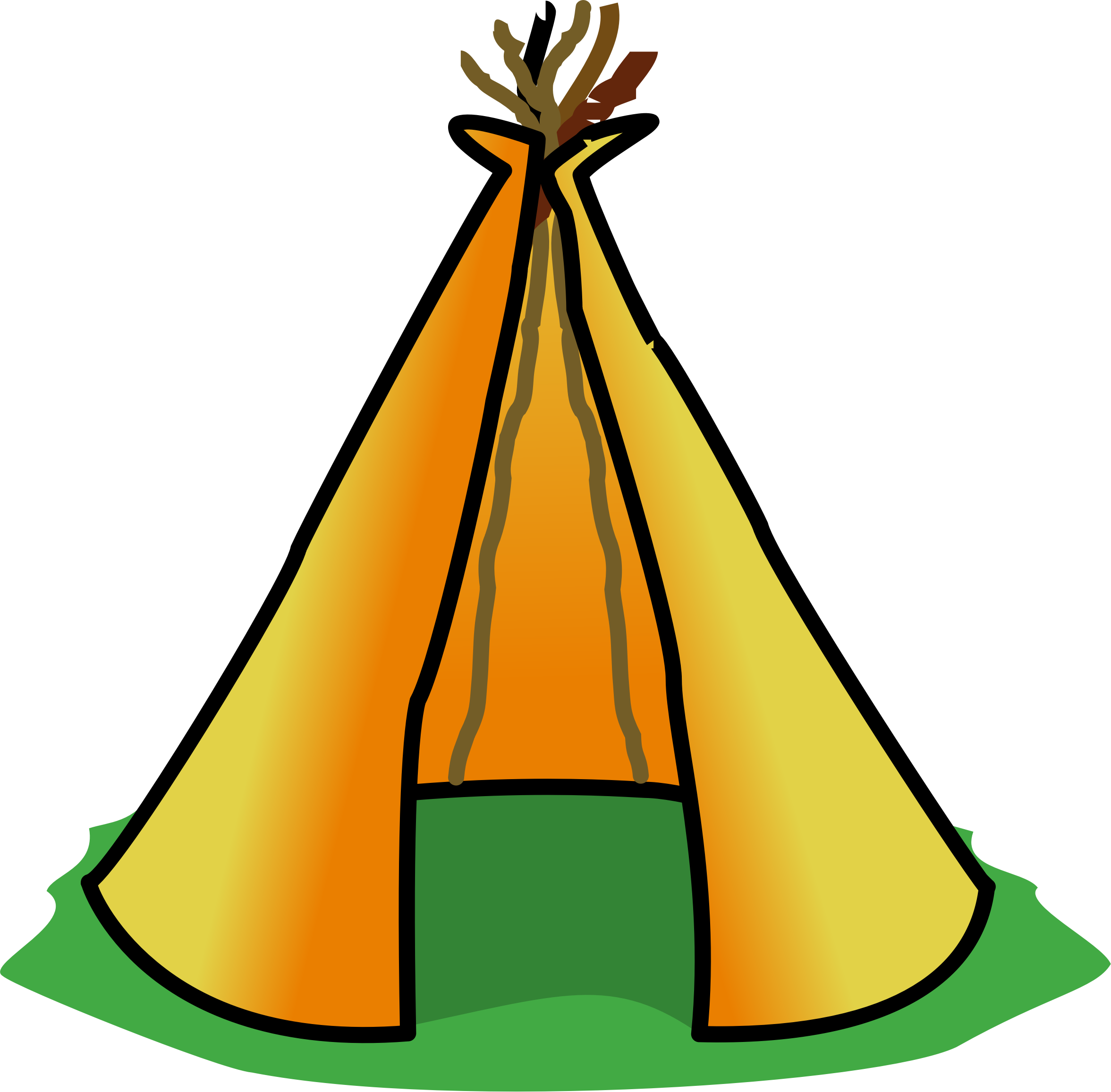 Teepee clipart 4 » Clipart Station.
