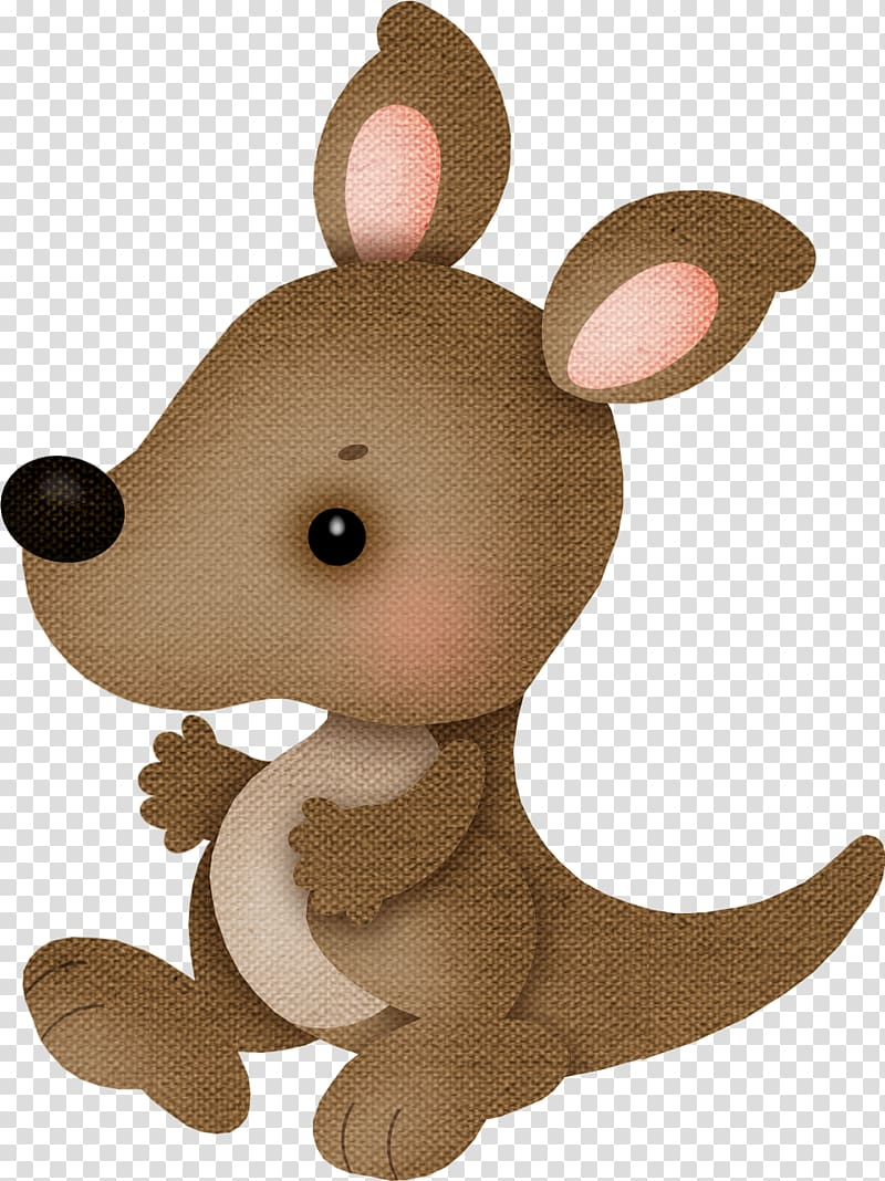 Animal Kangaroo Giraffe , TELA transparent background PNG.