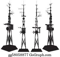 Telecommunications Clip Art.