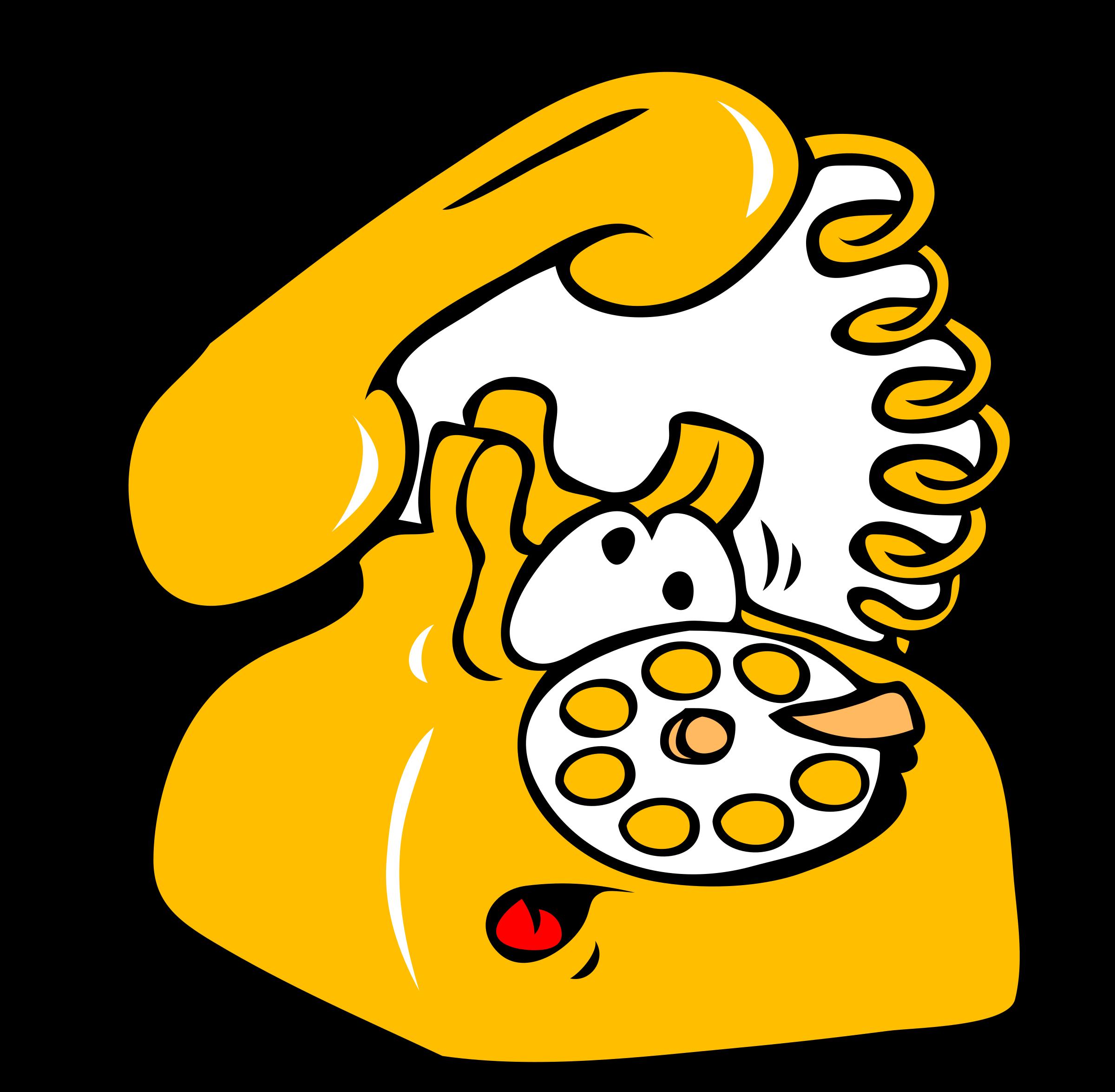 Telefono clipart 4 » Clipart Station.