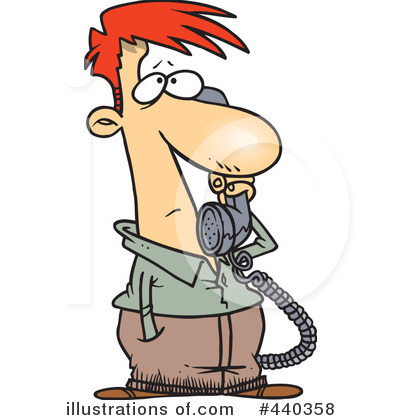 Phone Call Clipart #440358.