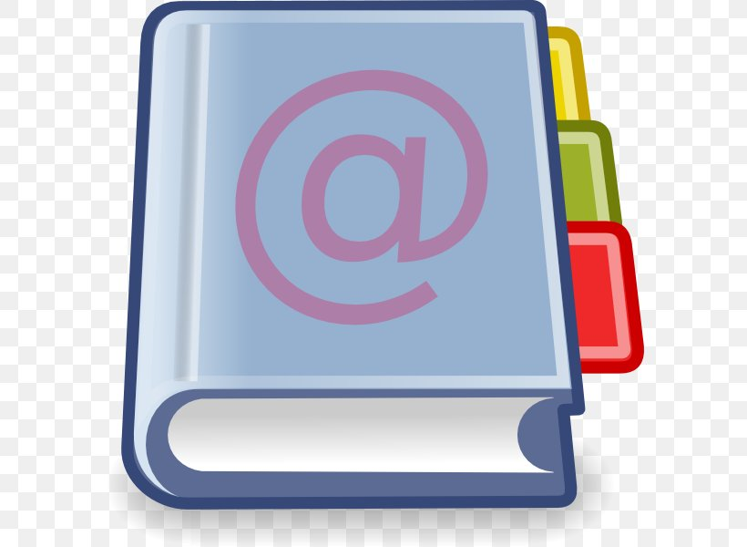 Address Book Telephone Directory Clip Art, PNG, 594x600px.