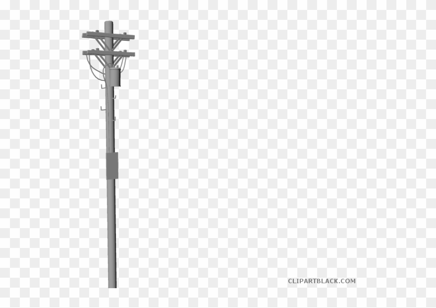 Telephone Pole Vector.