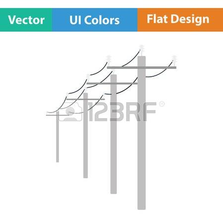 225 Utility Pole Stock Vector Illustration And Royalty Free.
