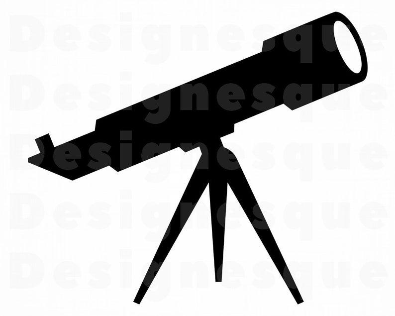 Telescope SVG, Telescope Clipart, Telescope Files for Cricut, Telescope Cut  Files For Silhouette, Telescope Dxf, Telescope Png, Eps, Vector.