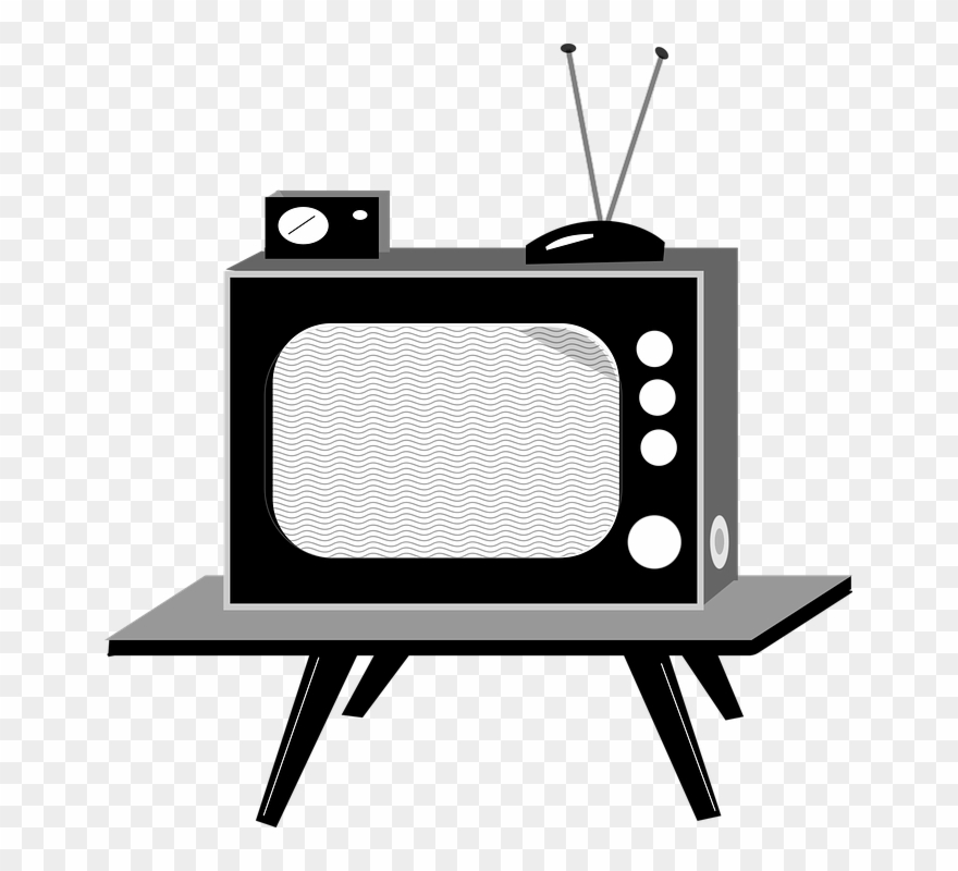 Tv Set Cartoon Clipart (#1368833).