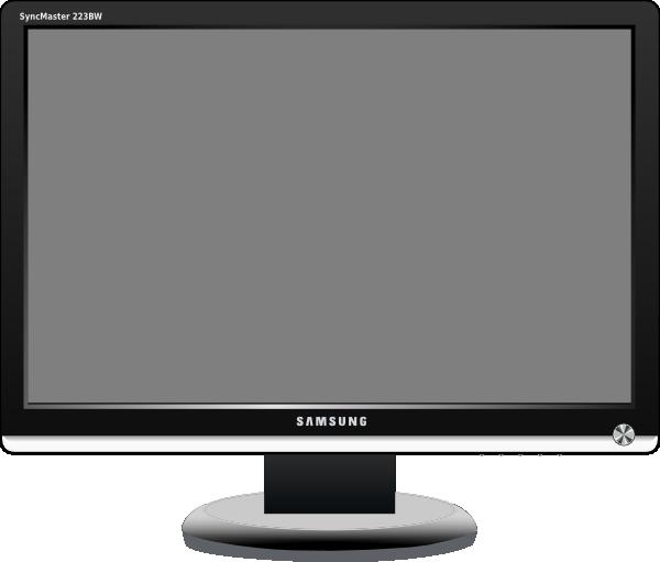 Television Set Clipart.