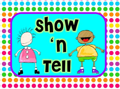 Show N Tell Clipart #1.
