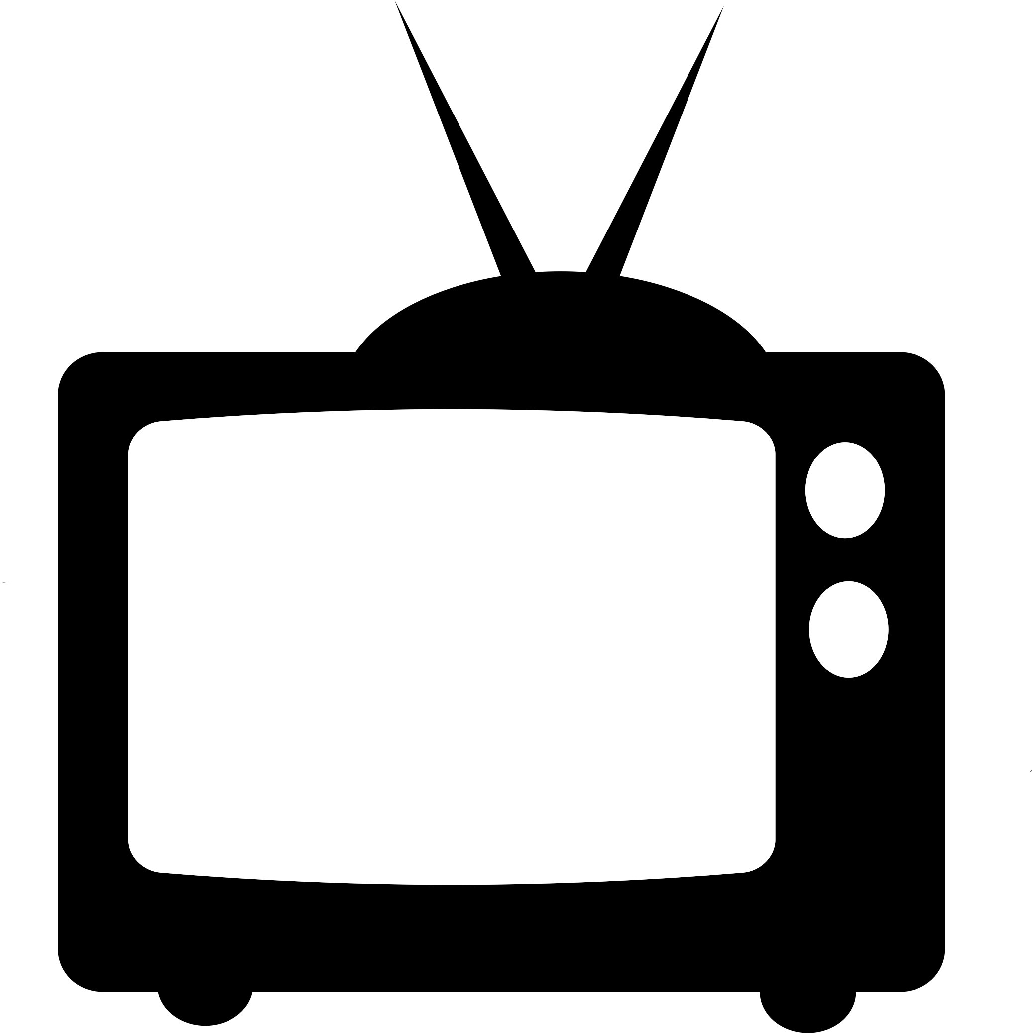 Television clipart telly, Television telly Transparent FREE.