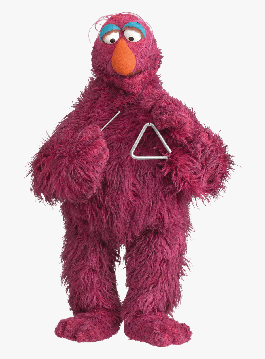 Sesame Street Clipart Telly Monster Pencil And In Color.