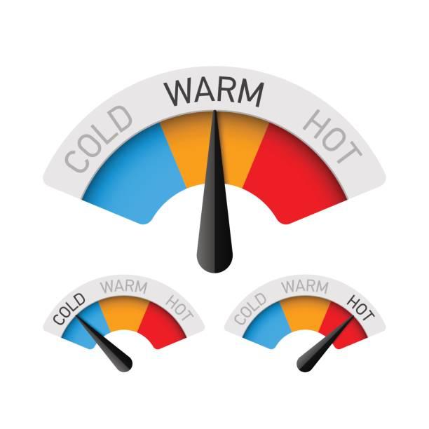 Best Temperature Illustrations, Royalty.