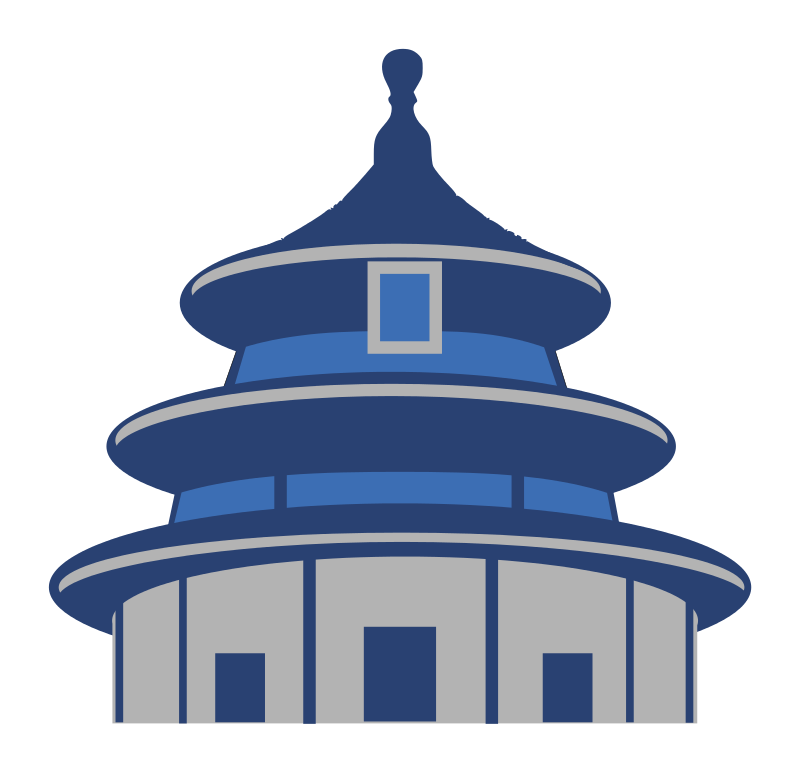 Free Clipart: Temple of Heaven.