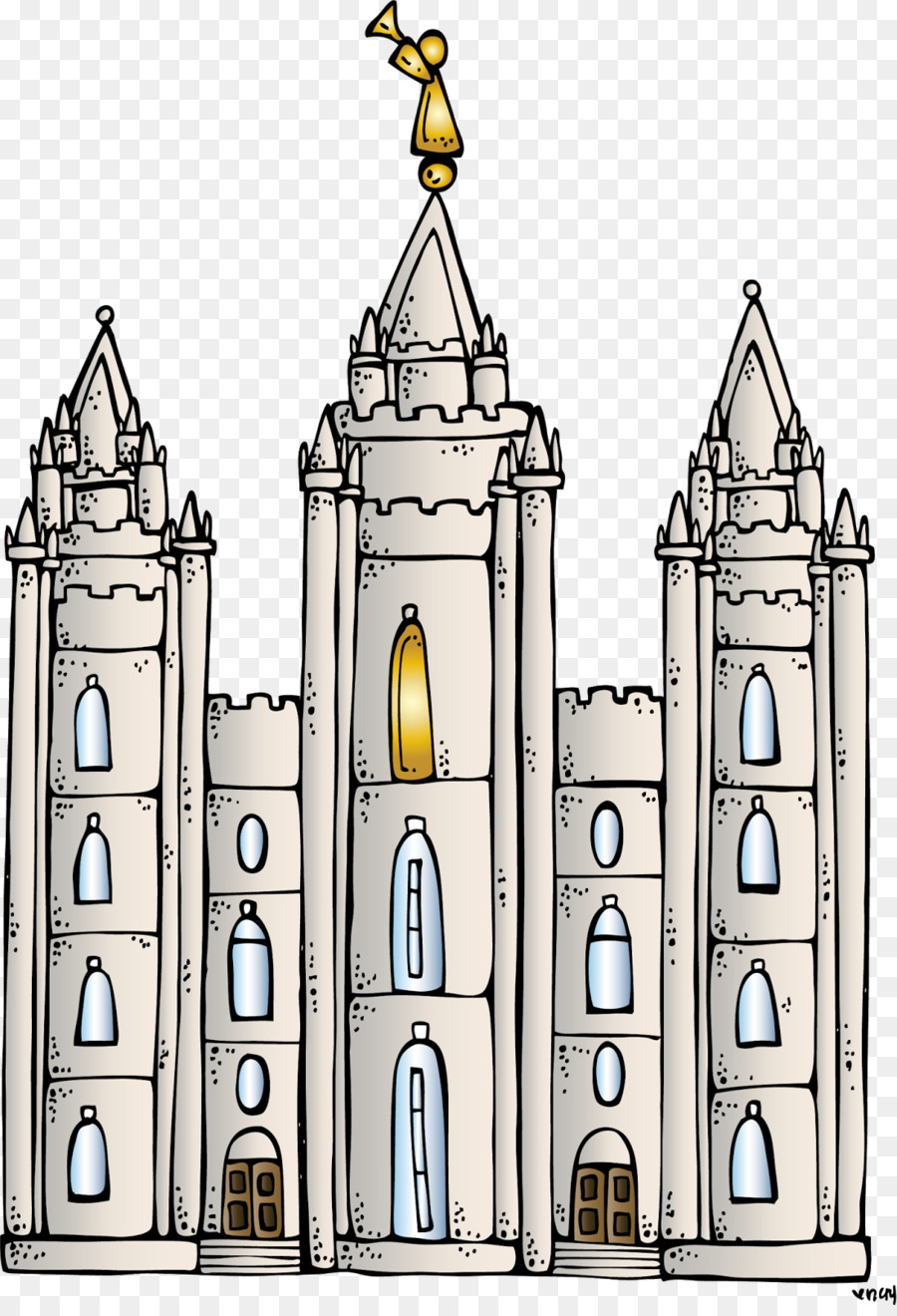 Medieval Background clipart.
