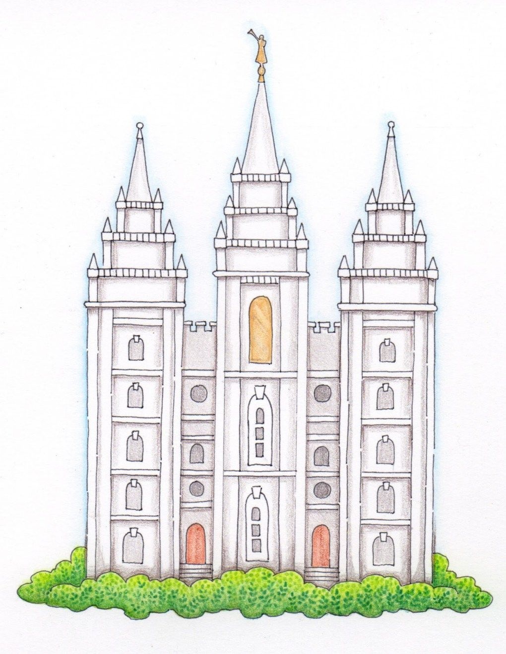July 2016 LDS Temple Sharing Time Idea.
