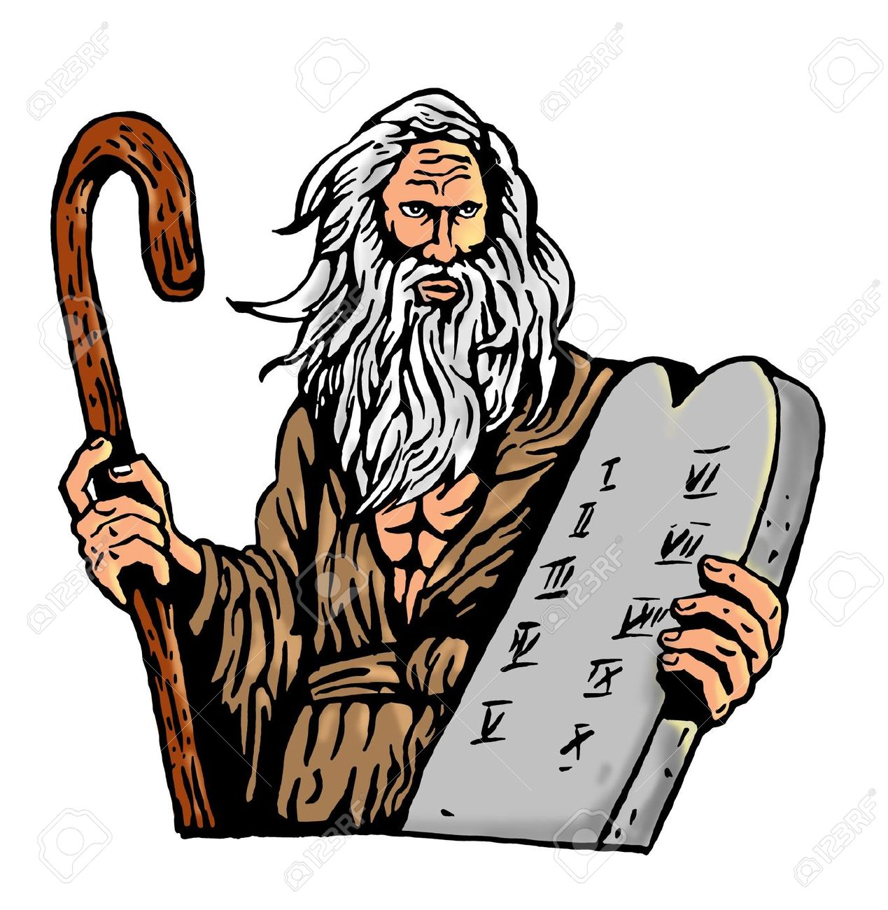 Ten commandments clipart 2 » Clipart Station.