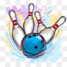 Tenpin Bowling PNG and Tenpin Bowling Transparent Clipart.