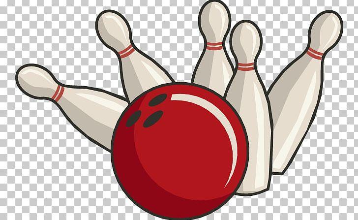 Bowling Pin Bowling Ball Ten.