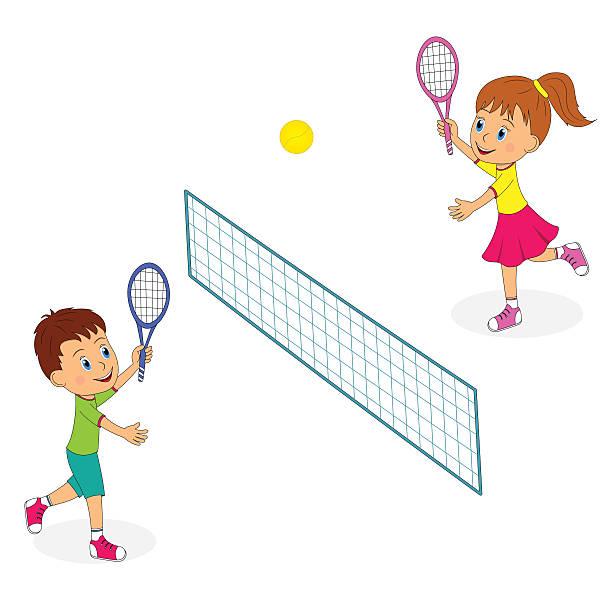 Kids tennis clipart 5 » Clipart Station.
