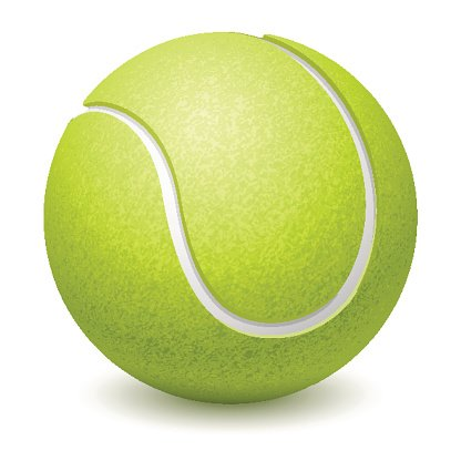 tennis ball pictures clipart #9