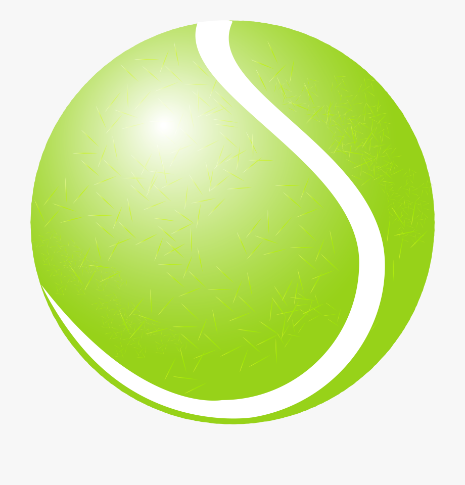 Tennis Ball Png Clipart.