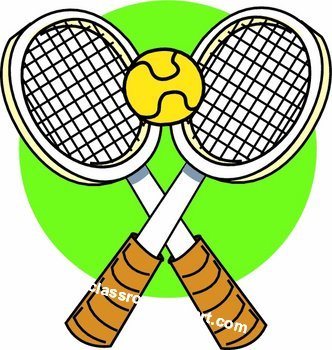 Tennis clipart free clipart images 3.