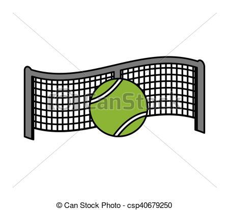 net tennis sport equipment icon.