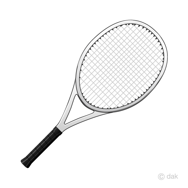 Free Tennis Racket Clipart Image|Illustoon.