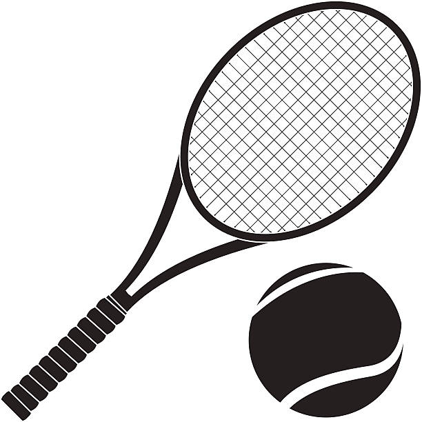 Tennis racket and ball clipart 1 » Clipart Station.