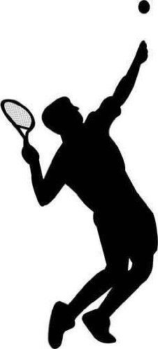 clipart tennis silhouette 20 free Cliparts | Download ...
