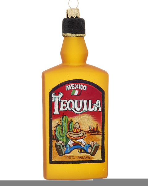 Tequila Bottle Clipart.