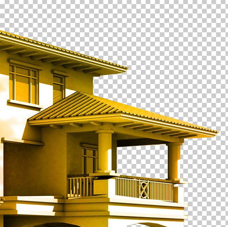Villa Balcony Terrace Architecture PNG, Clipart, Angle.