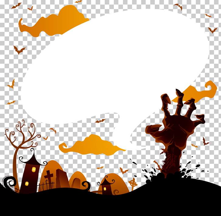 Halloween Adobe Illustrator, Halloween Terror PNG clipart.
