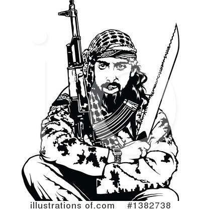 Terrorist Clipart #1382738.