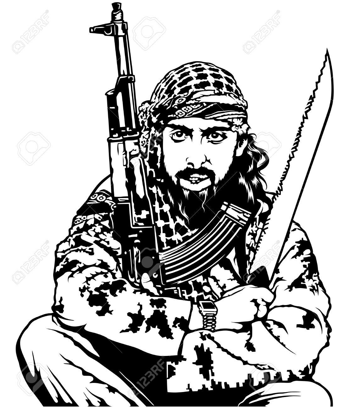 Terrorist clipart 7 » Clipart Station.