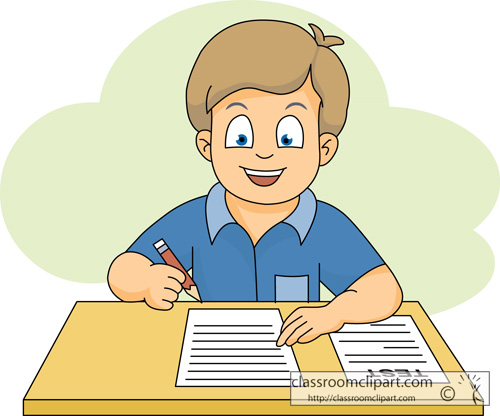 Test taking clipart 4 » Clipart Station.