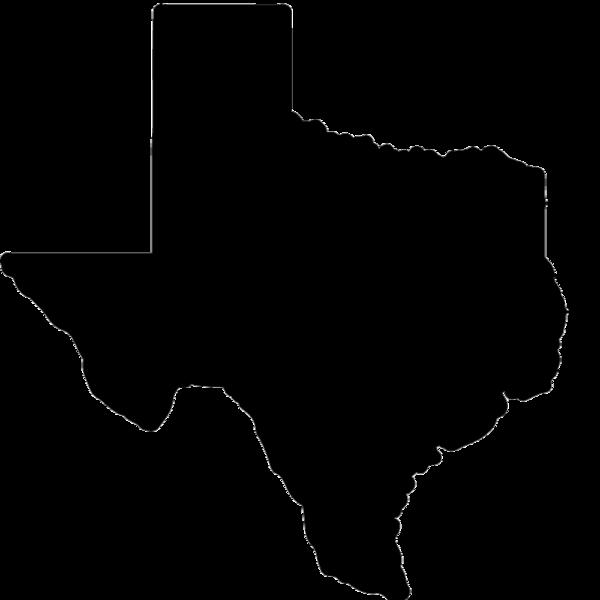 Texas Silhouette Clip art.