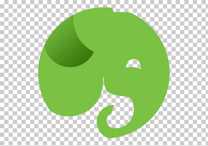 Grass leaf text symbol, App Evernote, green logo PNG clipart.