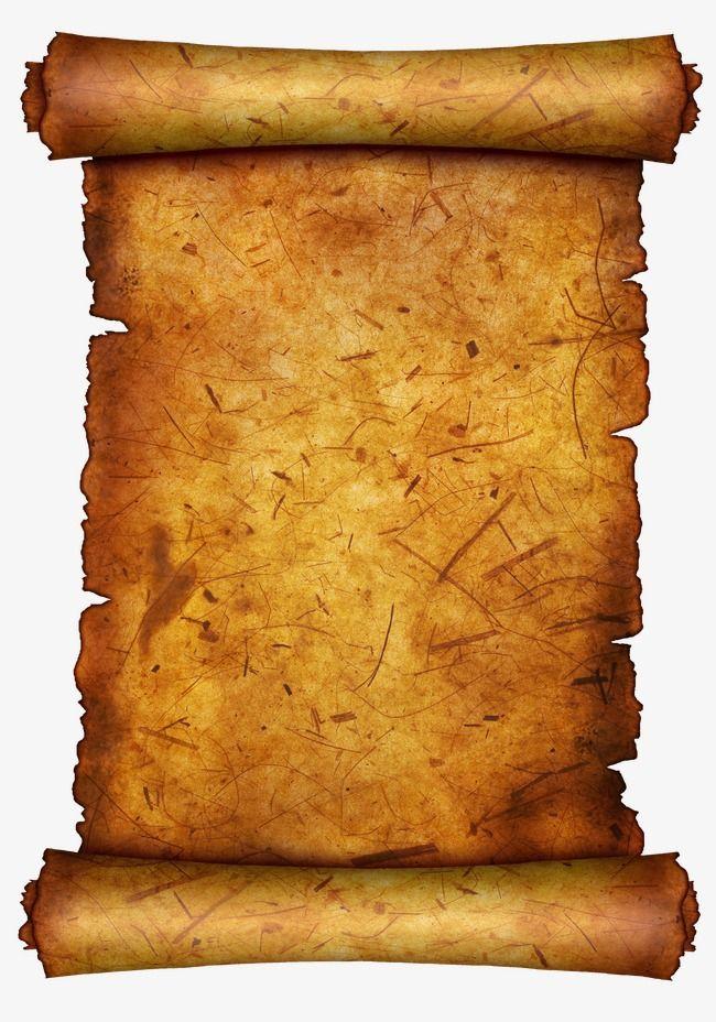 Old Paper, Parchment, Text Background Plate PNG Transparent.