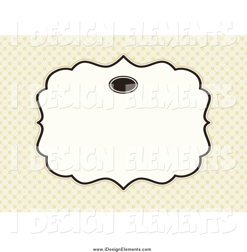 Text Box Design Clipart.