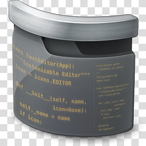 Sublime Text Icon, , glass text editor application.