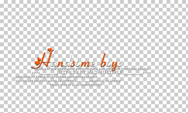 Logo Brand, photoscape effects, red and white text PNG.