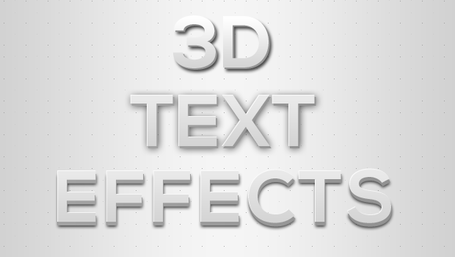 Photoshop 3D Text Effects Clipart Picture Free Download.