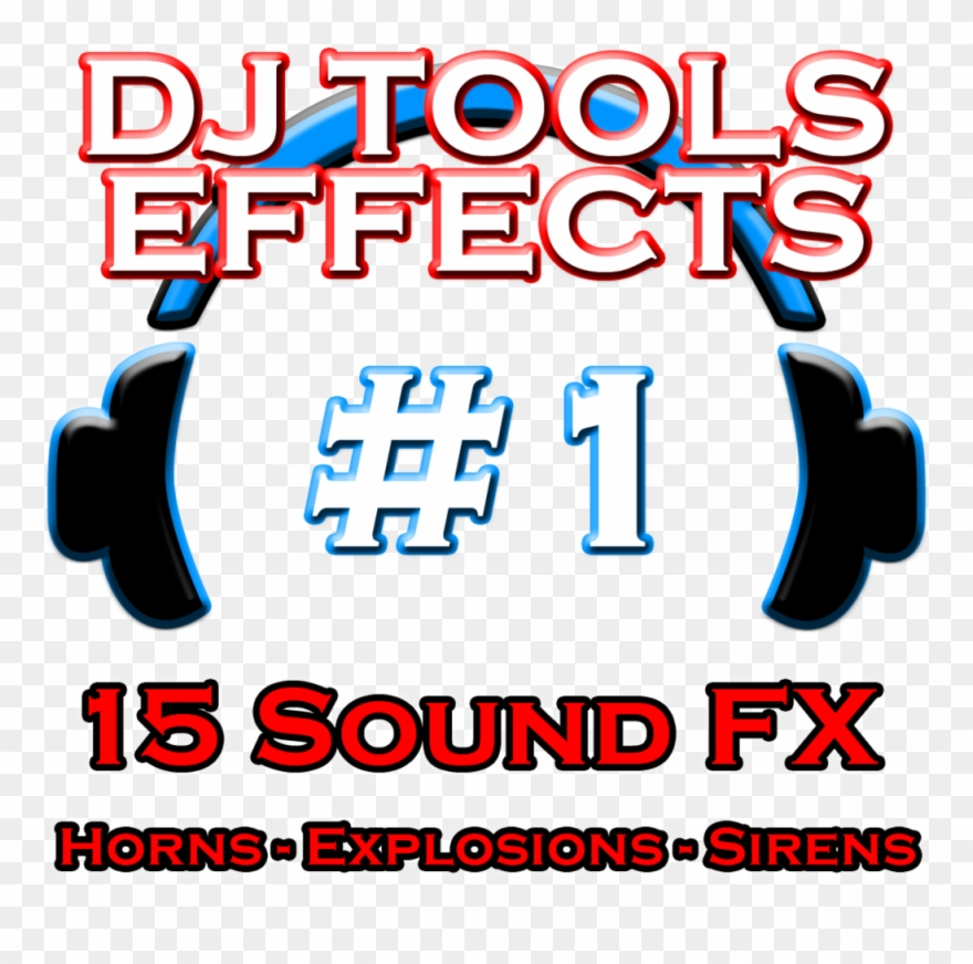 Dj Tools Sound Effects Pack Clipart (#4166040).
