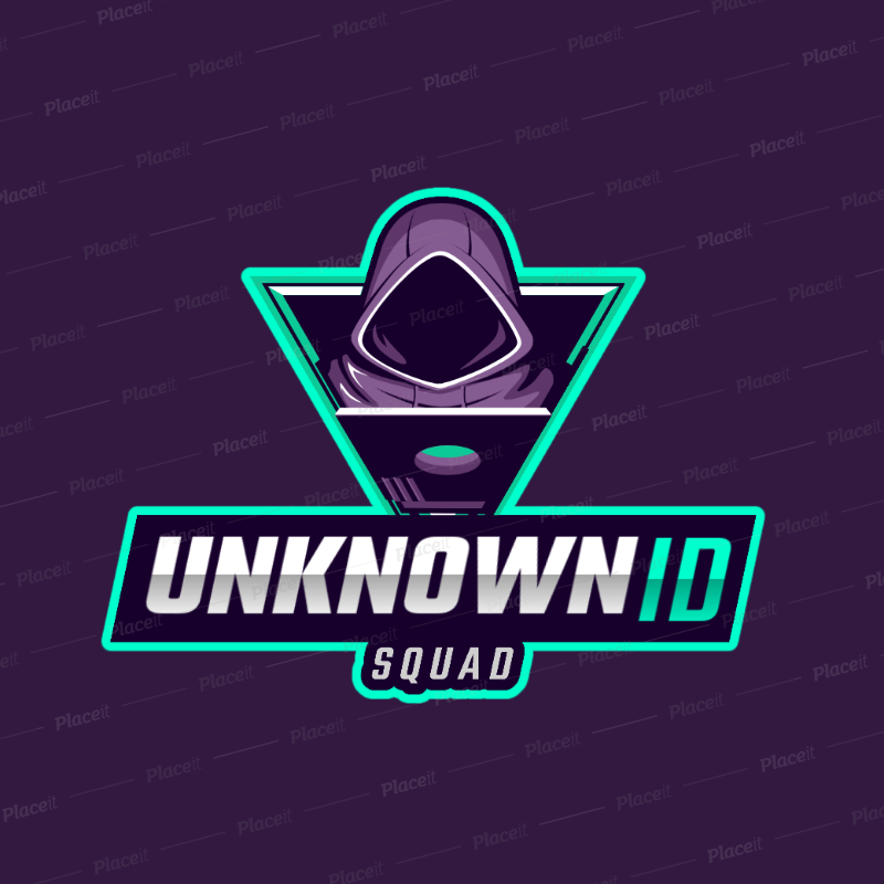 Logo Maker for a Gaming Squad Featuring a Hacker Clipart 2815f.