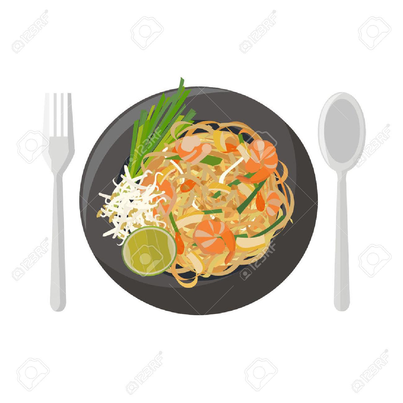 Thai Food Clipart Free.